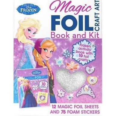 Disney Frozen Magic Foil Craft Art: Book and Kit