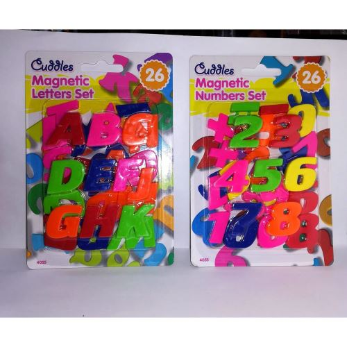 Magnetic Numbers/Letters Set