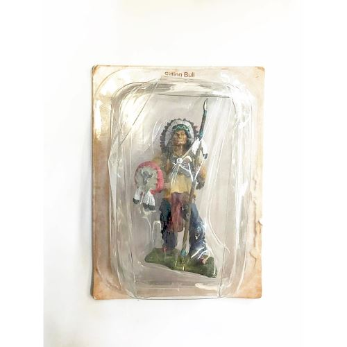 INAH001 INDIAN FIGURE Sitting Bull (Figurine)