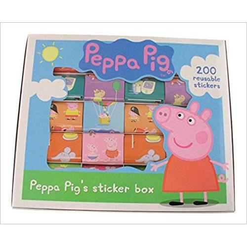 PEPPA PIG 200 STICKER SET
