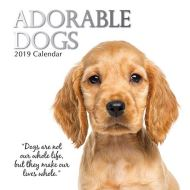 ADORABLE DOGS CALENDAR 2019