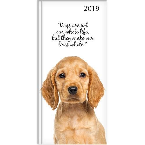ADORABLE DOGS POCKET DIARY 2019