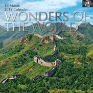 WONDERS OF THE  WORLD CALENDAR 2019
