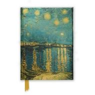 STARRY NIGHT OVER THE RHONE (Flame Tree Notebooks)