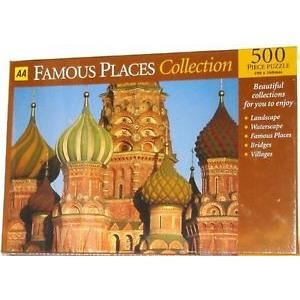 AA 500 MOSCOW JIGSAW PUZZLE