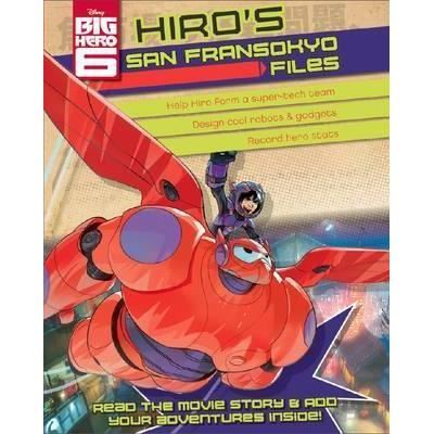 Disney Big Hero 6 Hiro's Superhero Files