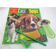 COLOUR AND CROSSWORDS CATS DOGS