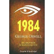 1984 by GEORGE ORWELL (fiction)