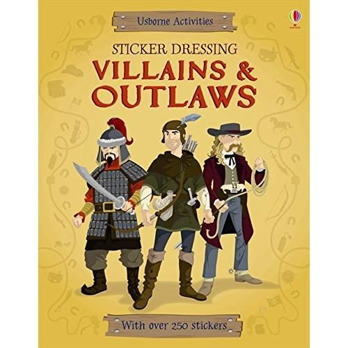 Sticker Dressing Villains and Outlaws (Activity Book)