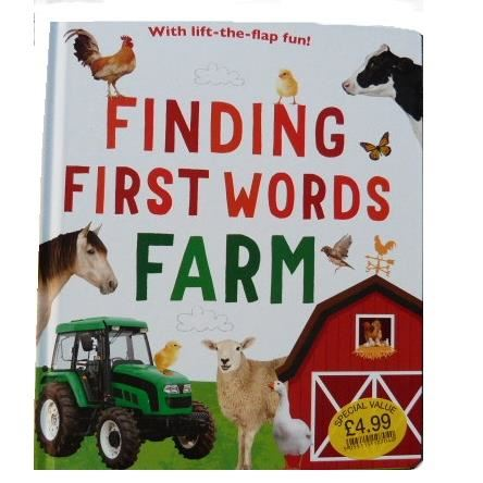 Finding First Words FARM (With lift-the-flap fun)