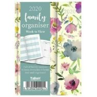 A6 FLORAL FAMILY ORGANISER