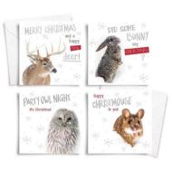 10 SQUARE PHOT CHRISTMASCARDS