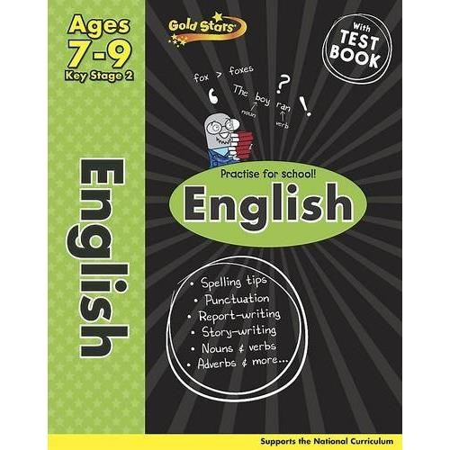 Gold Stars English Workbook Age 7-9 (Activity Book)