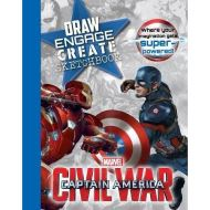 Marvel Captain America Civil War Draw Engage Create Sketchbook: Where Your Imagination Gets Super-Powered!
