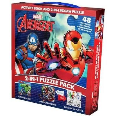 Marvel Avengers 2-in-1 Puzzle Pack