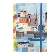 By the Sea A5 Notebook : With Elastic Closure