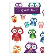 Owls Sticky Note Folder