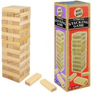 WOODWORKS TUMBLING STACKING GAME (54 PIECES)