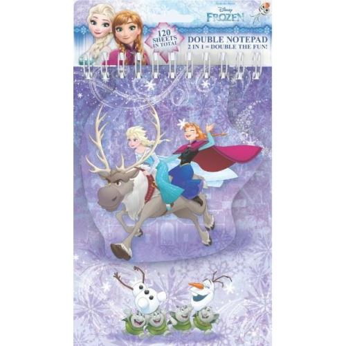 Double Notepads Frozen