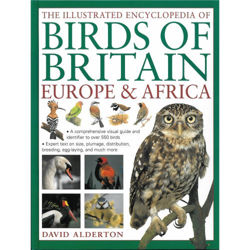 The Illustrated Encyclopedia of Birds of Britain Europe & Africa (hobbies)