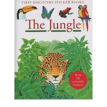 FIRST DISCOVERY STICKER BOOKS THE JUNGLE