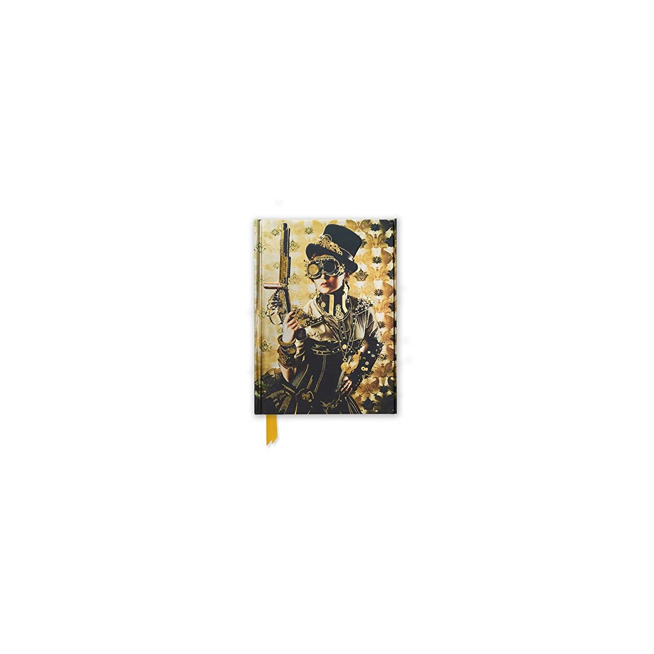 Steampunk Lady (Flame Tree Notebooks) imagine