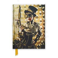 STEAMPUNK LADY (Flame Tree Notebooks)