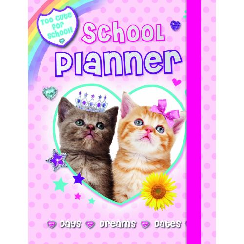 Fluffy Friends School Diary
