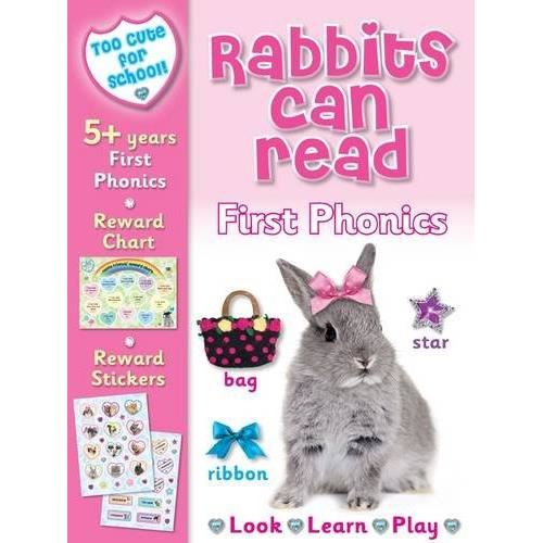 Too Cute for School - Rabbits Can Read