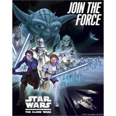 STAR WARS Birthday Party Invitations & Envelope