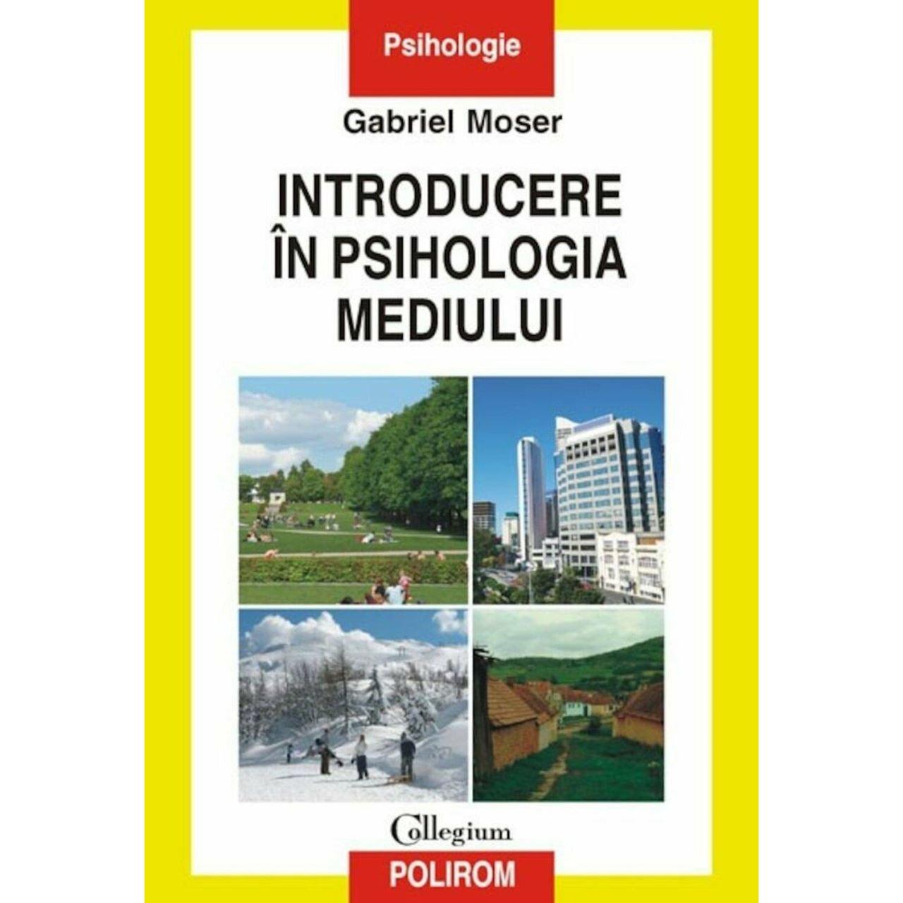 Introducere In Psihologia Mediului imagine