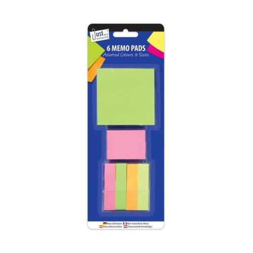 Neon Sticky Notes Assorted Colours