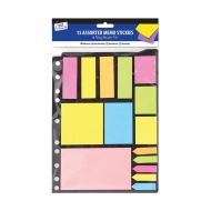 TALLON Folder Pack of Neon Memo Stickers