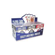 Linen Poker Size Playing Card, Security seale
