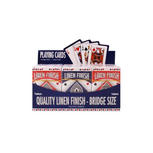 Linen Bridge Size Playing Cards