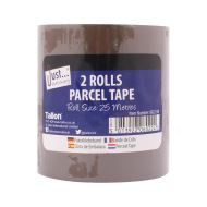 "TALLON 2 by 25m Rolls by 2"" Parcel Tape"
