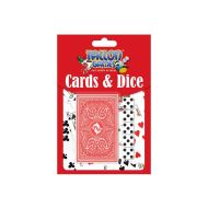 PLAYING CARDS + DICE