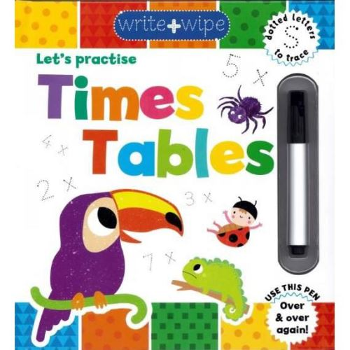 WRITE & WIPE CLEAN: Time Tables (Activity Book)