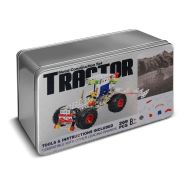 Tractor Metal Construction Set Tin Gift