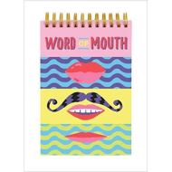 Word of Mouth Lenticular Notepad