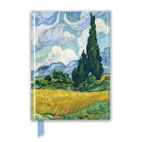 Van Gogh: Wheat Field with Cypresses (Foiled Journal)