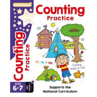 Gold Stars Counting Practice Ages 6-7 Key Stage 1 (Activity Books)