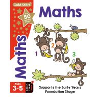 Gold Stars Starting Maths Ages 3-5 Early Years (Activity Books)
