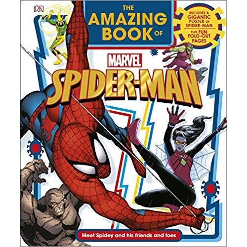 THE AMAZING BOOK OF MARVEL- SPIDER MAN