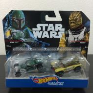 HOT WHEELS STAR WARS 2 PACK: BOBA FETT & BOSSK