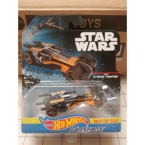 HOT WHEELS STAR WARS CARSHIPS: POE'S X-WING FIGHTER