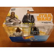HOT WHEELS STAR WARS BATTLE ROLLERS: CHEWBACCA AND TIE FIGHTER PILOT