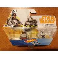 HOT WHEELS STAR WARS BATTLE ROLLERS: RIO DURANT AND RANGE TROOPER