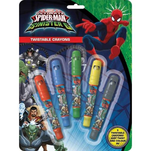 TWISTABLE  SPIDERMAN CRAYONS