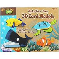 Make Your Own Sea Life 3D Card Models